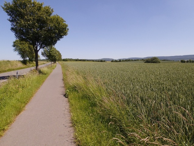 Auf dem Weg nach Duderstadt 07.06.14 03